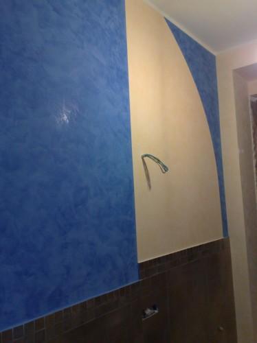 Pitture particolari rifiniture d 39 interni lesignano de 39 bagni - Pitture interne particolari ...