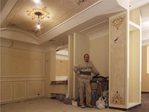 Decorazione pittorica d 39 interni roma - Decoratori d interni ...