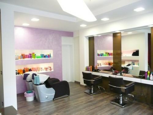 Illuminazione per parrucchiere: progetto illuminotecnico per un