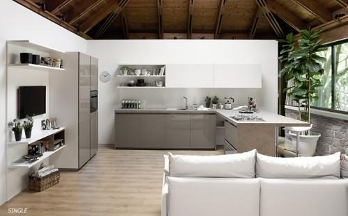 Cucina moderna con gola grosseto - Mobili grosseto ...