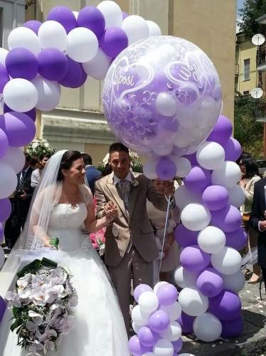 Addobbi con palloncini salerno pontecagnano faiano - Decorazioni matrimonio palloncini ...