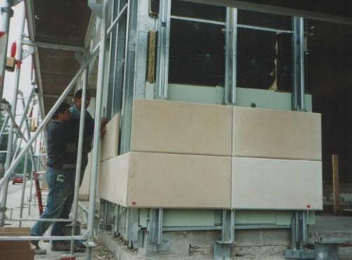 Bianco cave pietra leccese pareti ventilate pavimenti for Cartapesta leccese tecnica