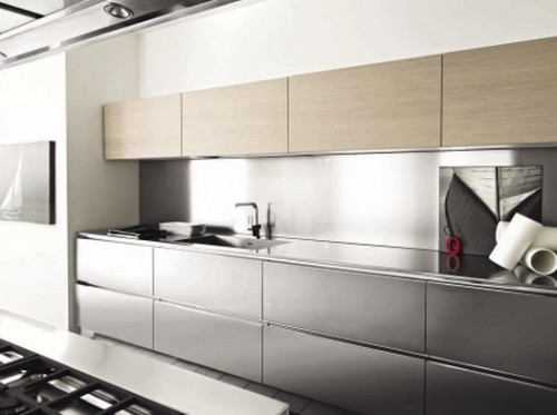 Cucina In Rovere Sbiancato. Free Idee Di Cucine Moderne Con Elementi ...