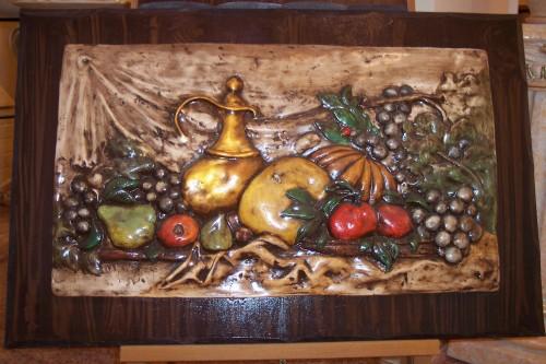 Bassorilievo con frutta taranto for Vendita online complementi d arredo