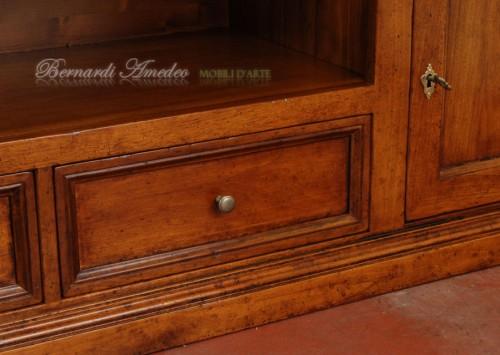 Porta tv in legno massello oltre 2 metri di lunghezza ros - Porta dvd in legno ...