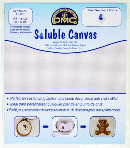 Soluble Canvas 14ct. DMC