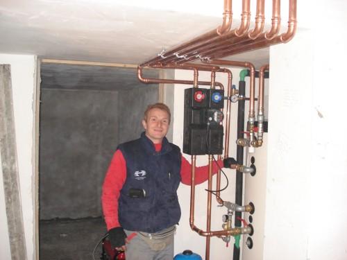 Impianti idraulici termici condizionamento ecologici - Montaggio termocamino ...