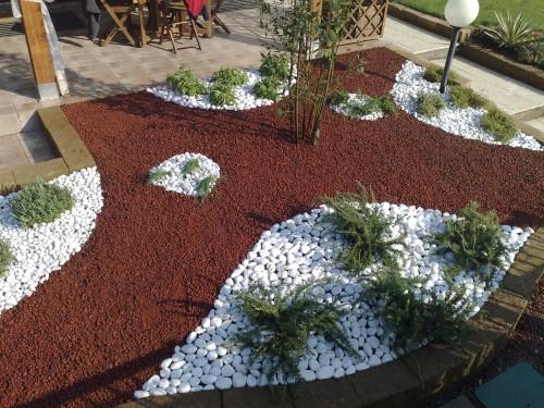 Ciottoli roma for Decorazioni giardino con sassi
