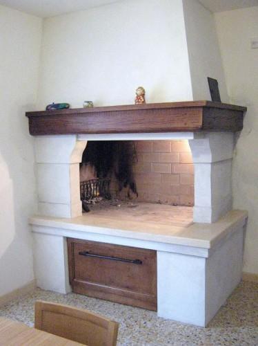 Caminetti con cucina design casa creativa e mobili - Camino per cucinare ...