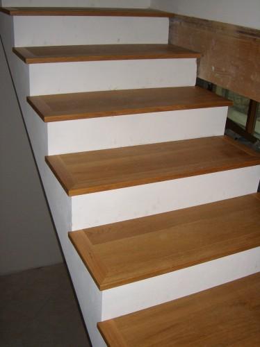 Scala rivestita in parquet medea - Scale rivestite in legno per interni ...