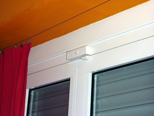 Sensore per porte e finestre bianco torino - Antifurto per finestre ...