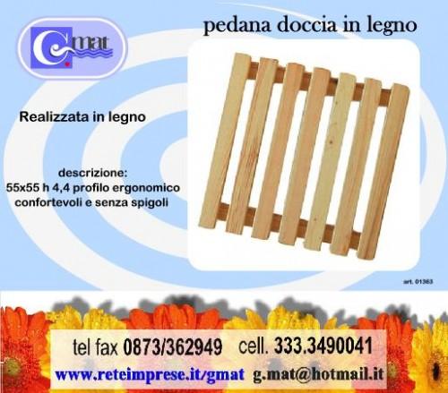 pedana doccia legno riciclo : PEDANA DOCCIA IN LEGNO QUADRATA 1363 : (Vasto)