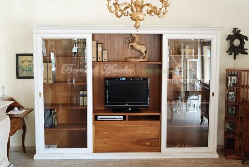 Libreria porta tv con ante scorrevoli ros - Libreria porta dvd ...