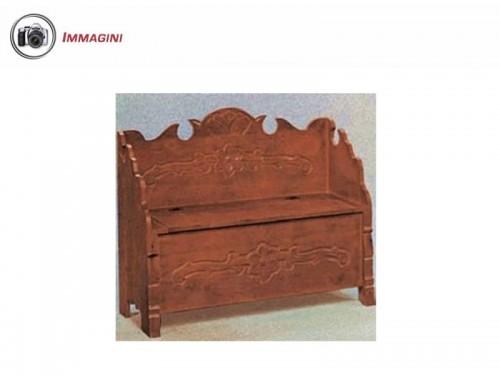 Cassapanca in legno villaricca - Cassapanca da bagno ...