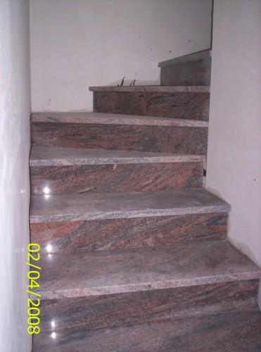 Scale in granito japarana 39 india casazza - Granito per scale ...