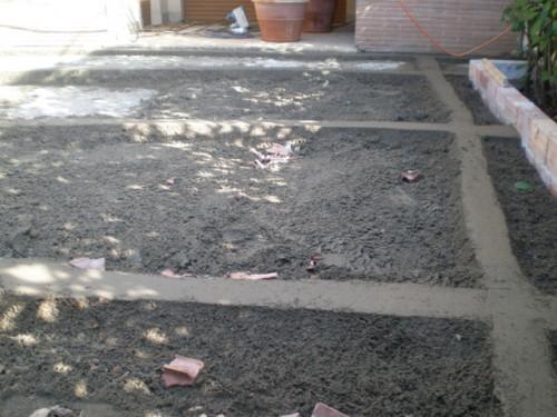 Massetto cemento roma - Posa pavimento esterno su sabbia ...