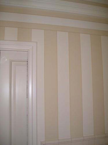 Tinteggiatura pareti effetto tappezzeria concesio for Tappezzeria a righe
