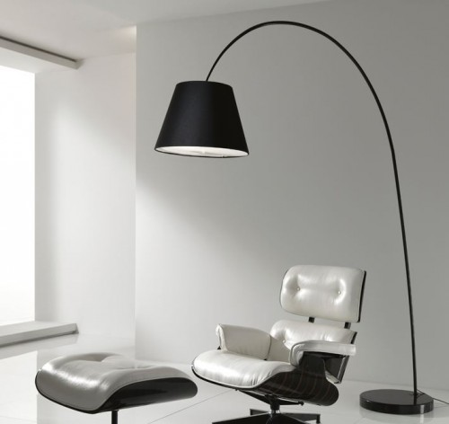 LAMPADA PIANTANA ARCO SMART NERA : (Misano Adriatico)