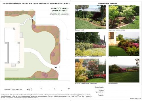 Progettazione online del tuo giardino sorisole for Progettazione online