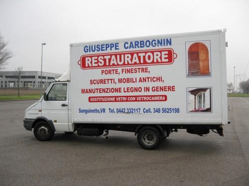 Carbognin giuseppe restauratore sanguinetto - Sostituzione vetri finestre ...