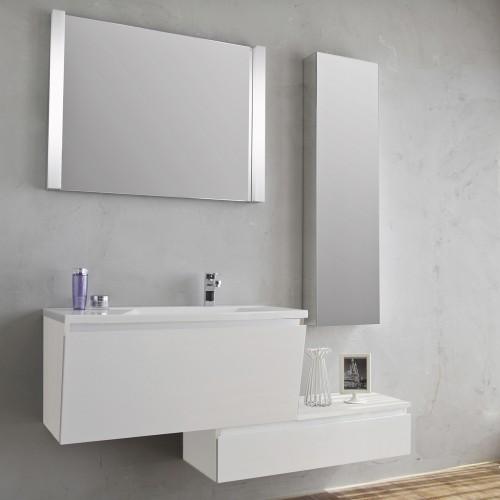 Base sospesa sotto lavabo tomasucci b052 pesaro - Lavabo angolare con mobile ...
