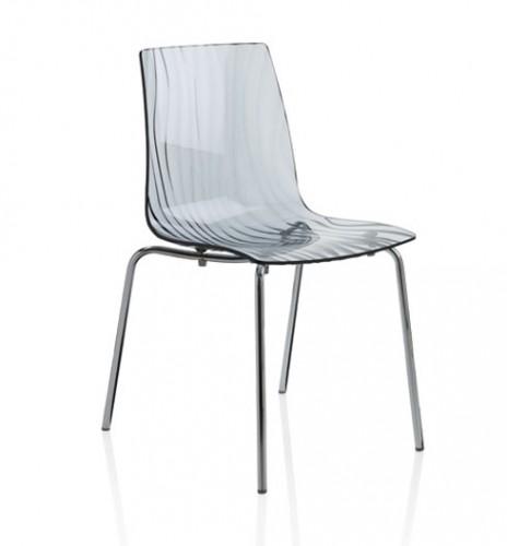 Sedia in policarbonato mono scocca calima mathi - Sedie policarbonato ...