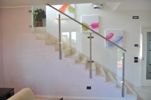 Passamano scale interne corrimano in ferro battuto corda with passamano scale interne - Ringhiere in vetro per scale interne prezzi ...