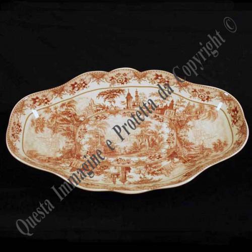 Centrotavola ovale in porcellana inglese verona for Centrotavola in inglese