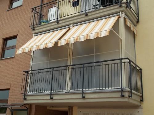 Tende Veranda Estate Inverno : Tenda veranda doppio rullo estate inverno promozione torino