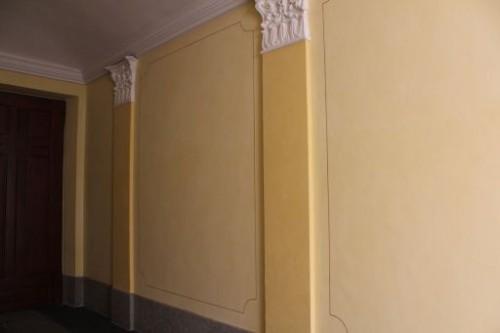 Decorazioni scale condominiali : (Torino)