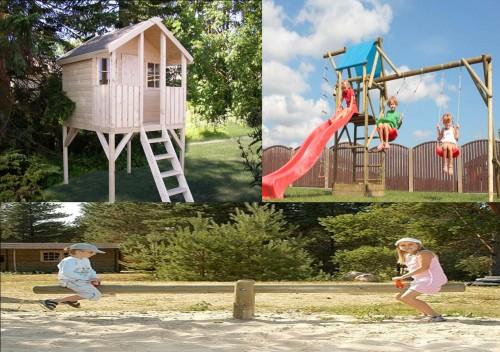 Casetta Giardino Coop : Soluzione parco giochi arredo giardino lamezia terme