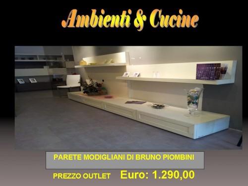 OUTLET BRUNO PIOMBINI - PARETE MODIGLIANI DI MOSTRA EURO: 1.290, 00 ...