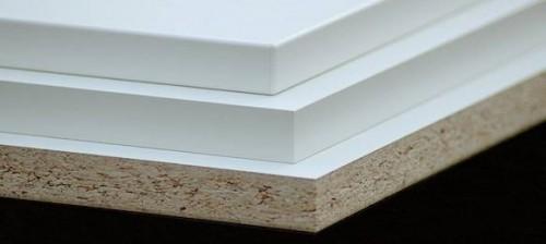 Truciolare nobilitato bianco sp 18 mm chieri - Foglio laminato bianco ...