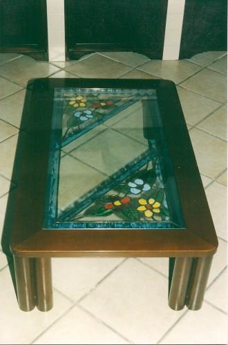 Piano in tiffany su misura per tavolo campo tures - Piano tavolo su misura ...