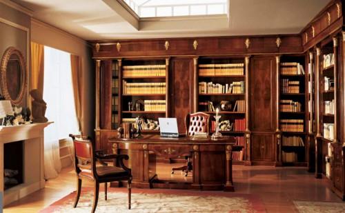Progettazione e realizzazione di arredamenti classici di for Arredo ufficio classico