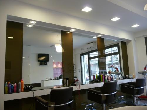 Illuminazione per saloni parrucchieri: parrucchieri ecologici