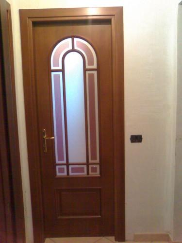 Porta con arco stile inglese a vetro nusco - Porte con arco ...