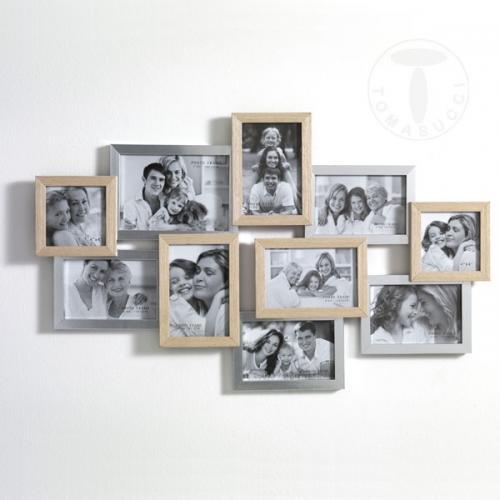 Cornice portafoto multipla tomasucci random 10fb 2473 for Set cornici da parete