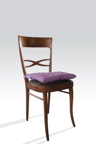 Cuscini per le sedie bollengo for Sedie arancioni