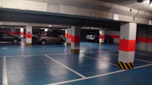 parcheggi interrati su 2 piani