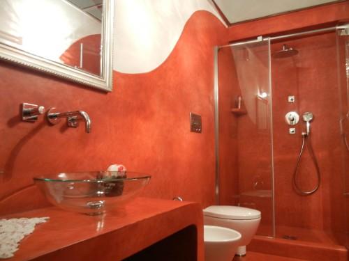 Sala da bagno rosso fuoco livorno - Bagno turco fai da te ...