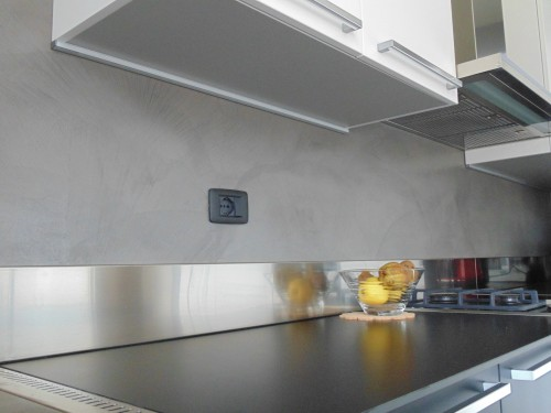 Casa immobiliare accessori parete resina - Rivestimenti in resina per cucina ...