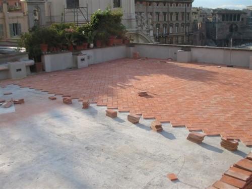 Posa in opera e trattamento pavimento cotto roma - Posa piastrelle esterno ...
