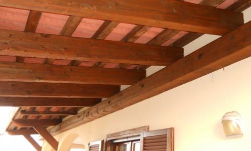 Tettoie porticati pensiline e verande in legno for Immagini di tettoie in legno