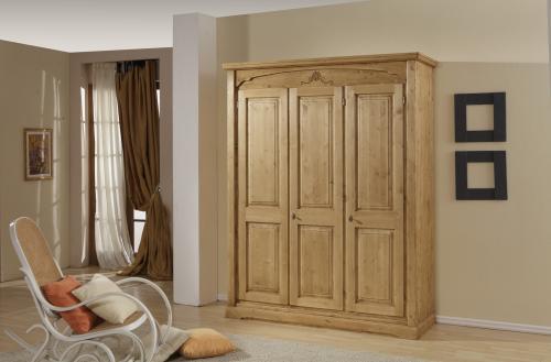 Camere Da Letto Rustiche Foto : Camera da letto rustica in legno armadio como comodini urbana