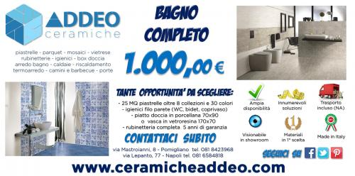 Ceramiche addeo napoli for Piemme arredamenti
