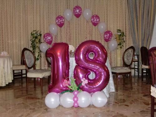 Decorazioni Sala Per 18 Anni : Decorazioni compleanno anni