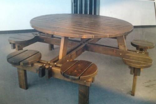 Tavolo legno Massello con sgabelli : (Lamezia Terme)