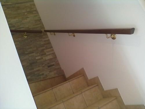 corrimano per scale in legno. corrimano per scale in legno with