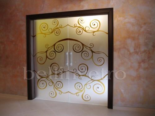 Porte di vetro per interni palermo : (Corleone)